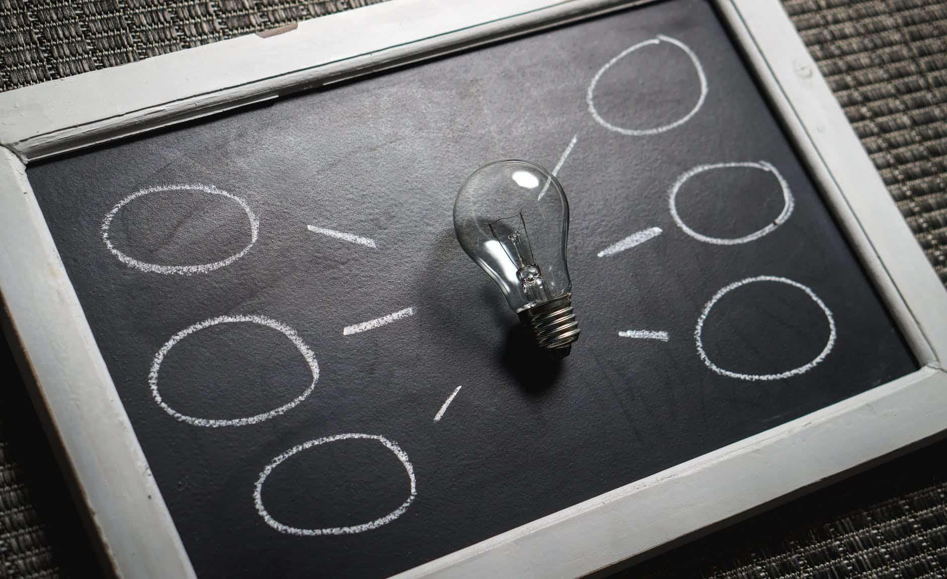 black and white blackboard business chalkboard